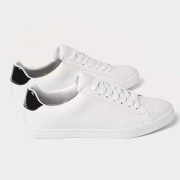 ab4a37d97571c Zara Shoes | Man Microperforated Sneakers White | Poshmark
